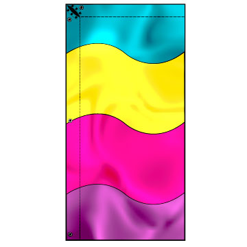 Flags Style Cf3 Vibrant Colors